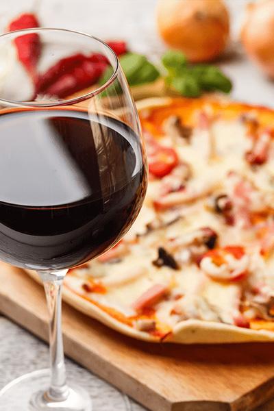 le vin et le met